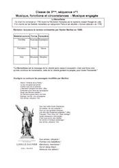 Enchaînements de séquences n°1 et n°2 en 6e, 5e, 4e, 3e
