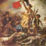 La Liberté guidant le peuple. E.Delacroix