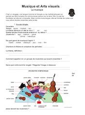 Exemple de séquence n°1 en 6e – Musique et arts visuels