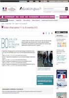 INFO N°15_Parution des programmes d'enseignement au BOEN et préparation de la rentrée 2016