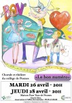 affiche chorale 2016 collège Pesmes